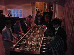 Giant foozeball game rental