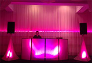 UpLighting DJ Booth