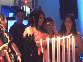 mitzvah candle lighting